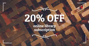 Online Library Subscription Discount Offer