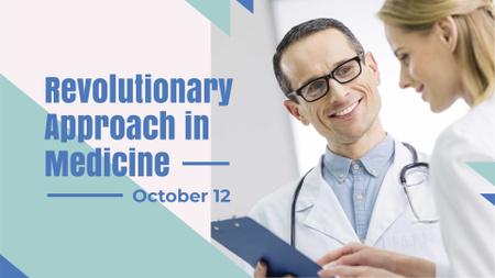 Ontwerpsjabloon van FB event cover van Team of Professional Doctors