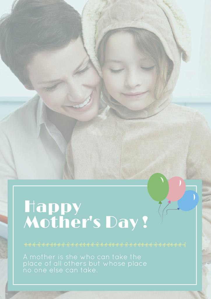 Happy Mother's day greeting — Create a Design