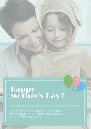 Template di design Happy Mother's day greeting Poster