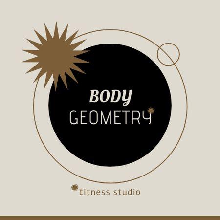 Fitness Studio Services Offer Logo – шаблон для дизайну