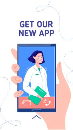 Plantilla de diseño de Online Medical consultation Instagram Story