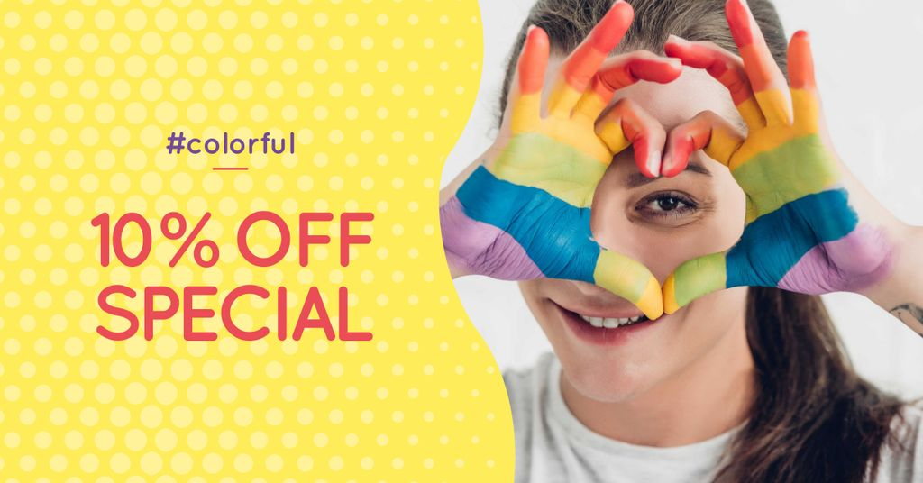 Pride Month Special Offer — Modelo de projeto