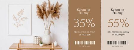 Home Decor discount offer Coupon – шаблон для дизайна