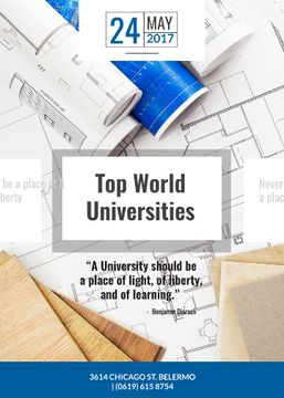 Universities guide on Blueprints