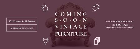 Modèle de visuel Antique Furniture Ad Luxury Armchair - Tumblr