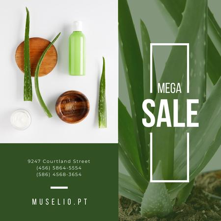 Natural Cosmetics Sale Offer Instagram Modelo de Design