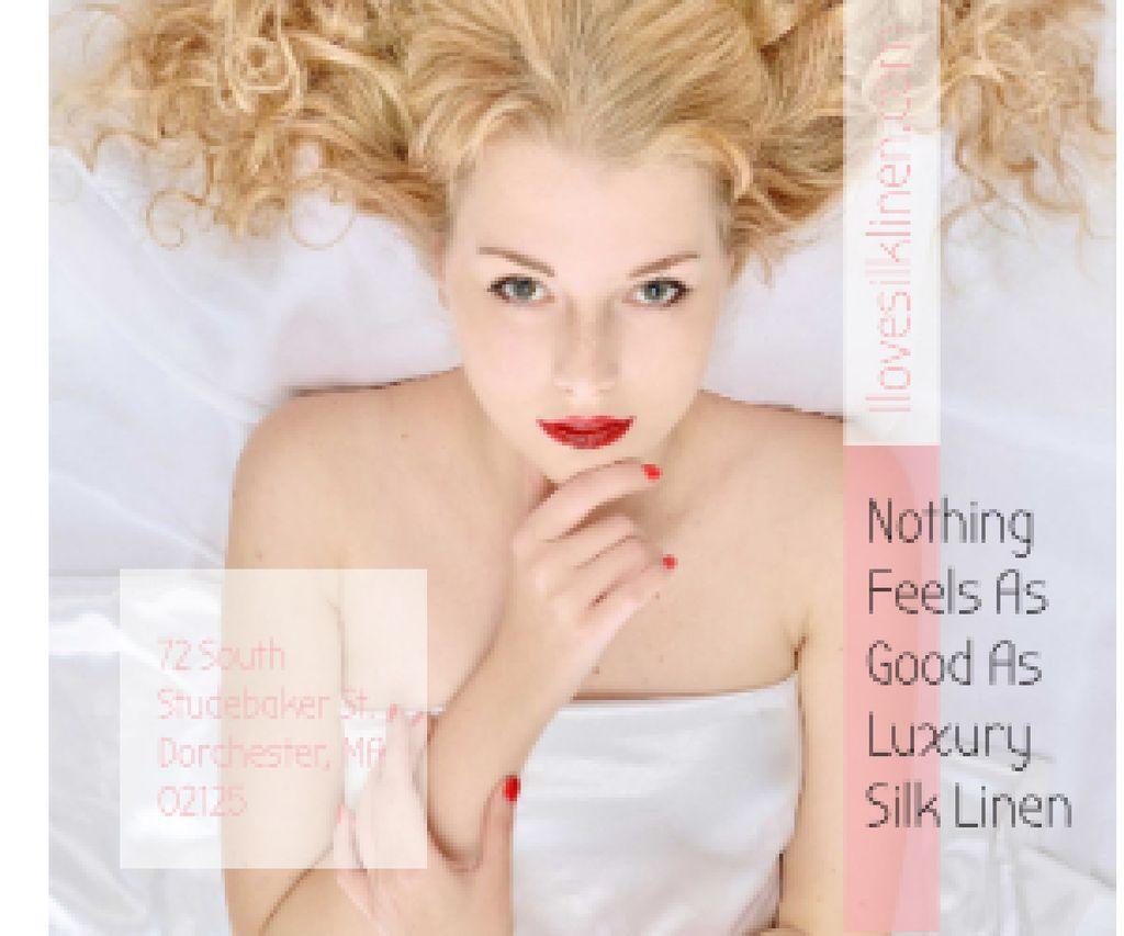 Luxury silk linen — Створити дизайн