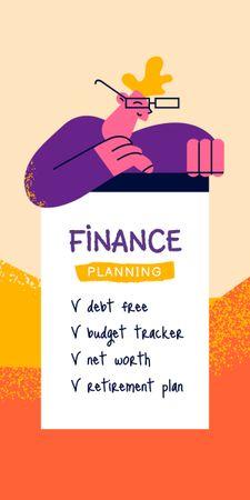 Finance Planning Tips Graphic – шаблон для дизайну