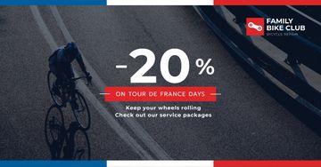 Tour de France Family bike club discounts