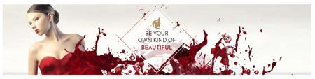 Plantilla de diseño de Citation for girls about beauty Twitter