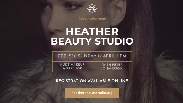 Plantilla de diseño de Beauty Studio Ad with Attractive Woman Youtube