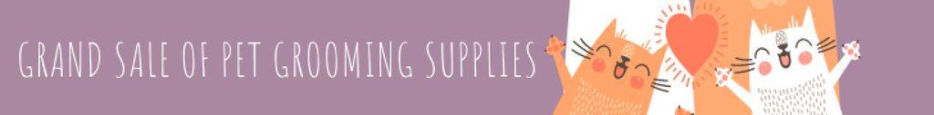 Grand sale of pet grooming supplies — Maak een ontwerp