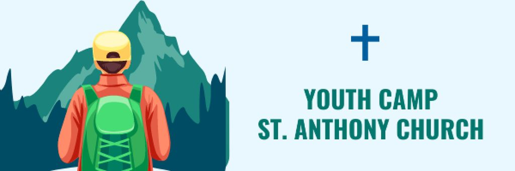 Youth religion camp of St. Anthony Church — Create a Design