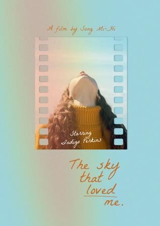 Movie Announcement with Inspirational Phrase Poster – шаблон для дизайну