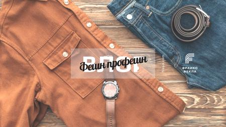 Fashion Sale with Casual Male Clothes Youtube – шаблон для дизайна