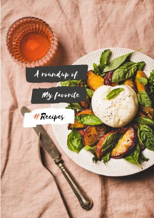 Delicious fresh Salad Poster – шаблон для дизайну