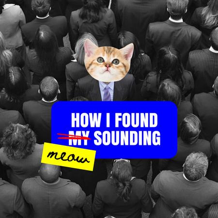 cat Album Coverデザインテンプレート