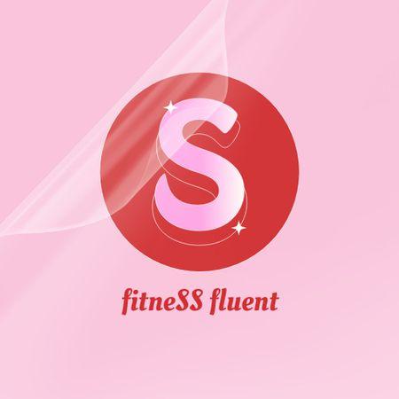 Designvorlage Fitness Gym Services Offer für Logo