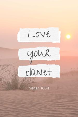 vegan Pinterest – шаблон для дизайну