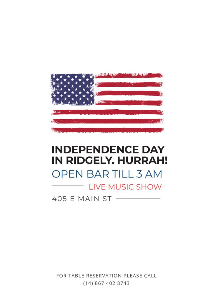 Independence day in Ridgely — Crea un design