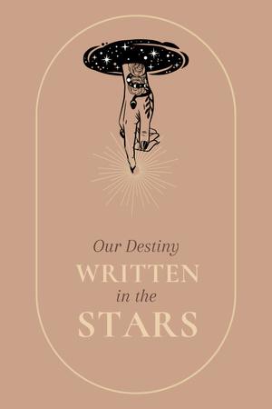Astrology Inspiration with Cute Stars Pinterest Modelo de Design