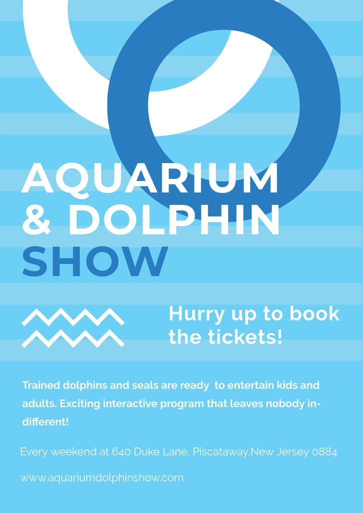 Aquarium and Dolphin show — Створити дизайн