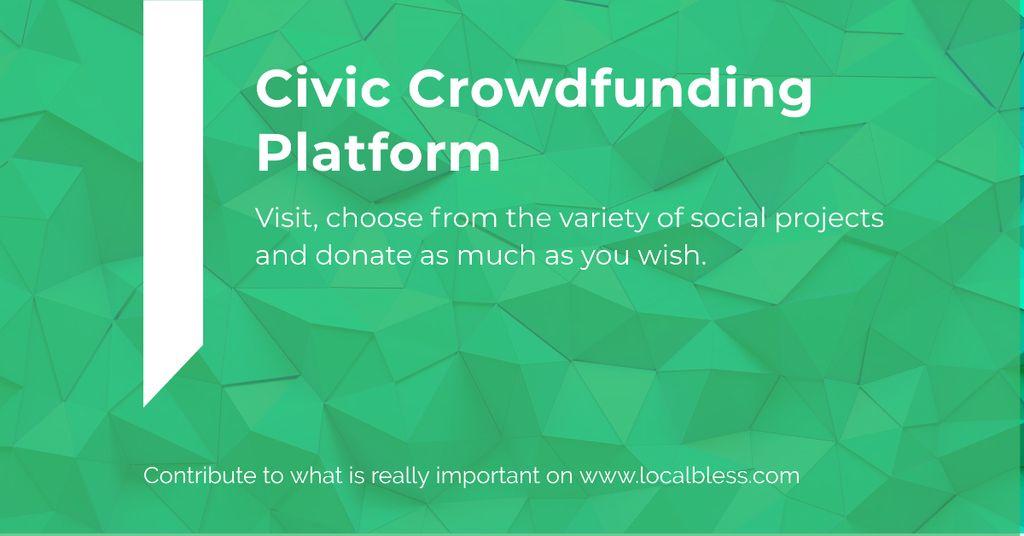 Civic Crowdfunding Platform —デザインを作成する