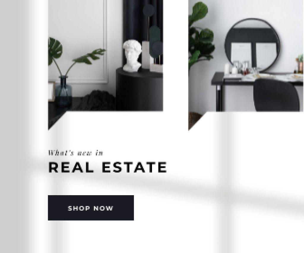 Modern Room Interior for Real Estate offer — Create a Design