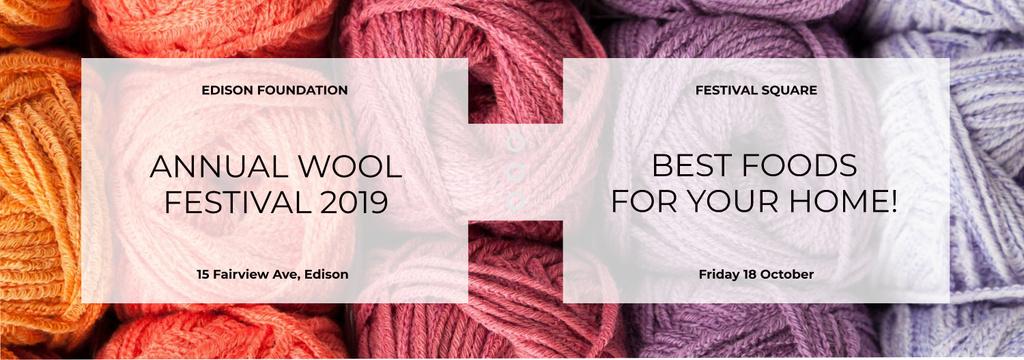 Knitting Festival Wool Yarn Skeins — Crear un diseño