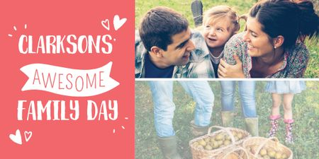 Template di design Family day poster Image