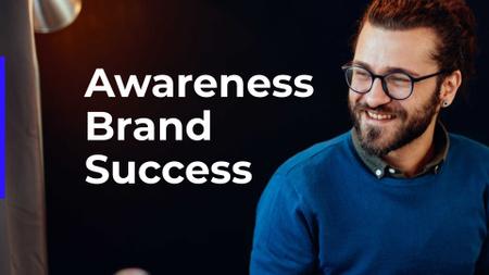 Plantilla de diseño de Branding Company Services Ad Presentation Wide