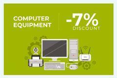 Discount for computer equipment