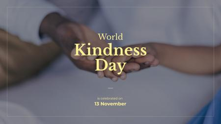 Template di design World Kindness Day Presentation Wide