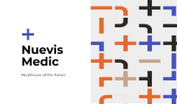 Clinic Ad with Cross pattern