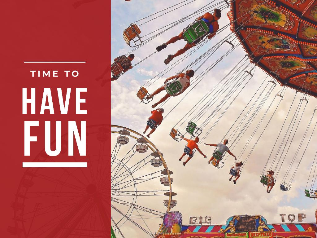 People in Amusement Park — Створити дизайн