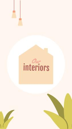 Design Studio interiors icons Instagram Highlight Cover – шаблон для дизайну
