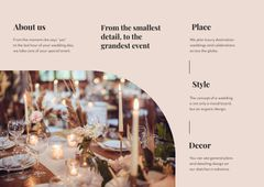 Festive Catering and Serving on Wedding Day