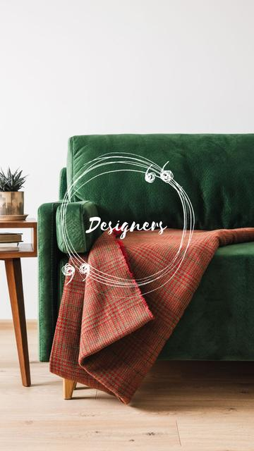 Plantilla de diseño de Home Design shop info Instagram Highlight Cover