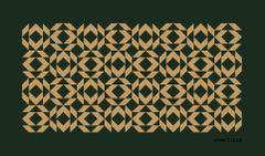 Minimalistic Logo on Green Background