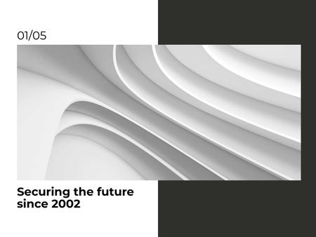 Insurance Company Services Offer Presentation Design Template