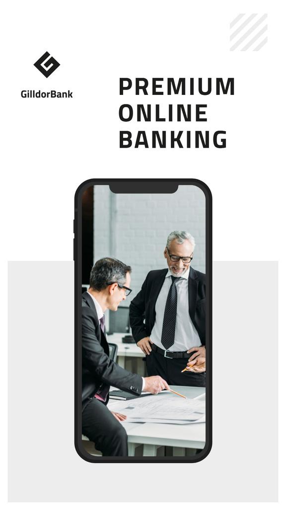 Online Banking services — Створити дизайн