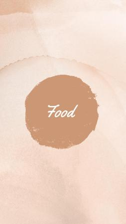 Info about Food on Pastel Background Instagram Highlight Cover – шаблон для дизайна