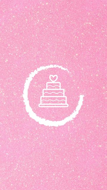Wedding Services and attributes in pink Instagram Highlight Cover – шаблон для дизайна