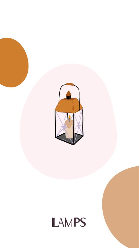 Plantilla de diseño de Home Decor and Houseware icons Instagram Highlight Cover
