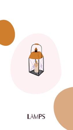 Ontwerpsjabloon van Instagram Highlight Cover van Home Decor and Houseware icons