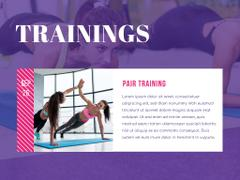Fitness club Ad