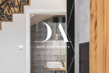Design Studio offer with Bathroom interior
