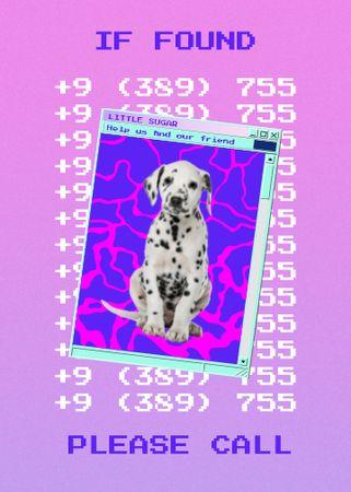 dog Flayer – шаблон для дизайну