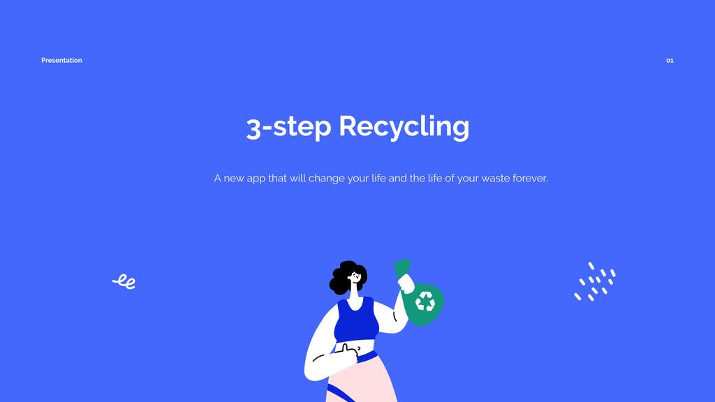 Recycling App promotion — Створити дизайн